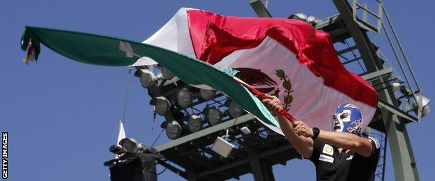Mexican F1 fan