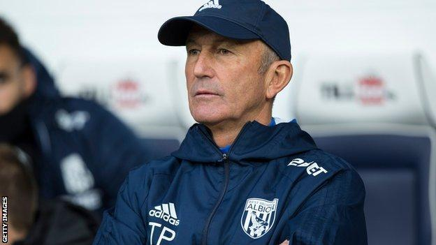 Former West Brom manager Tony Pulis