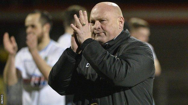David Jeffrey is Ballymena manager