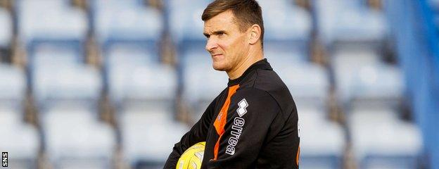 Lee McCulloch joined Killie as an assistant coach on a three-year deal