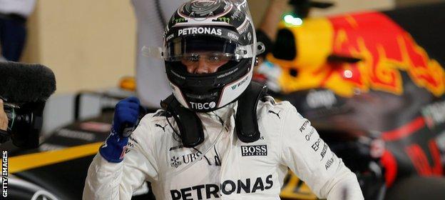 Mercedes F1 driver Valtteri Bottas