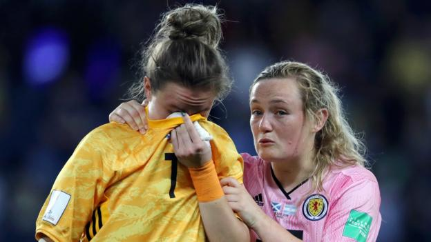 Women's World Cup: Scotland knocked out after 3-3 draw with
