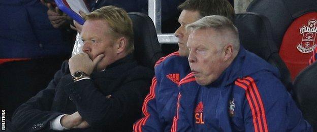 Southampton coaching staff