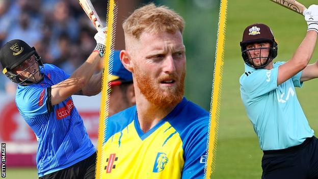 Phil Salt, Ben Stokes, Will Jacks