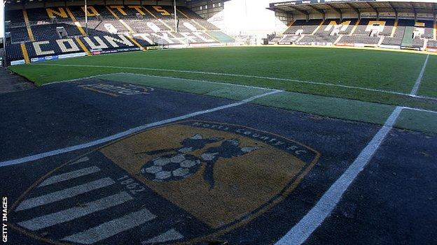 General view from inside Meadow Lane