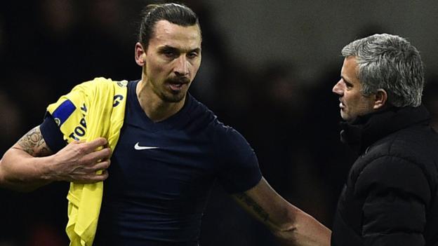 Zlatan Ibrahimovic move to Tottenham makes 'no sense' - Jose Mourinho thumbnail