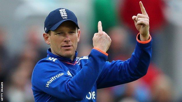 England one-day captain Eoin Morgan