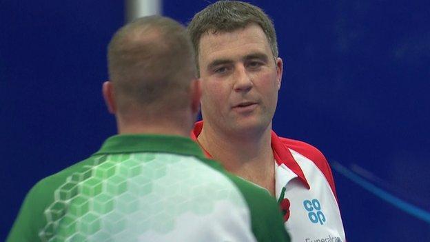 Michael Stepney reaches Scottish Open final.