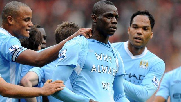 Mario Balotelli is currently playing in Italy's Serie A for Brescia