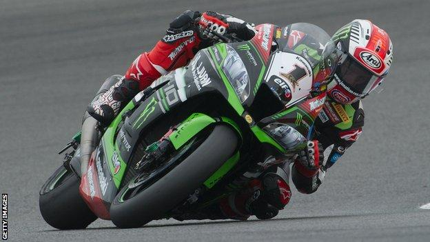 Northern Ireland's Jonathan Rea was World Superbike champion in 2015 and 2016