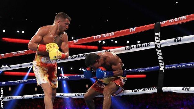 Vasyl Lomachenko fights Miguel Marriaga