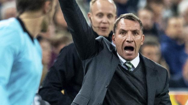 Celtic: Jeremy Toljan red 'took game away' in Valencia - Brendan Rodgers thumbnail
