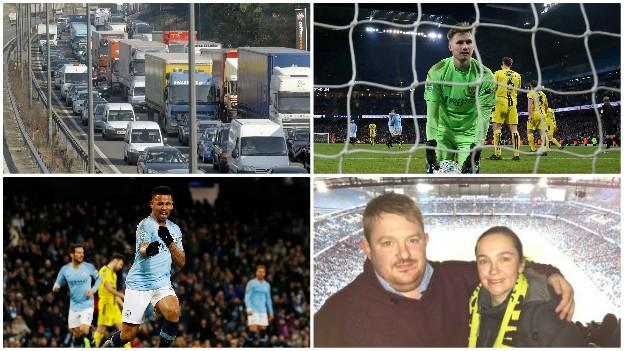 Man City 9-0 Burton: Eight-hour journey for 15 mins of ...
