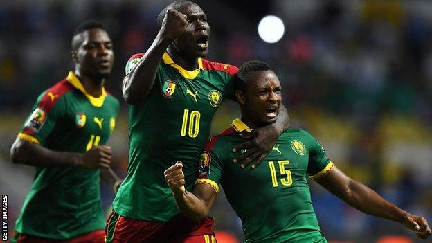 Cameroon beat Guinea-Bissau at Afcon