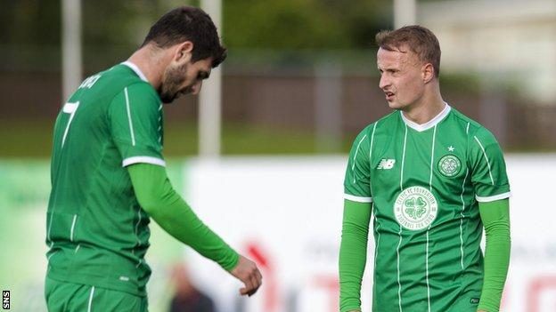 Nadir Ciftci and Leigh Griffiths