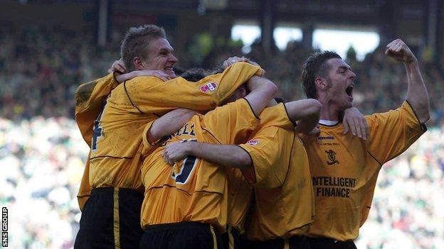 Livingston overcame financial worries to triumph in the final 17 years ago