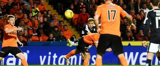 Greg Stewart scores for Dundee