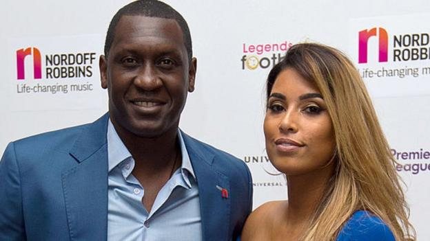 'Not much opportunity' for black players like ex-England striker Emile Heskey, says wife Chantelle thumbnail