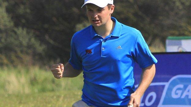 Jack Hume won the Walker Cup with the Great Britain & Ireland team last year