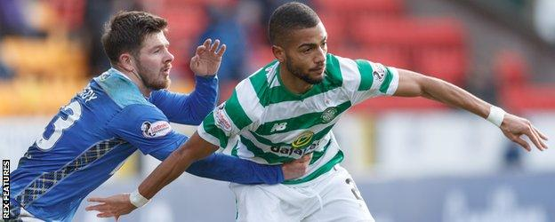 Jeremy Toljan made an impact on his Celtic debut