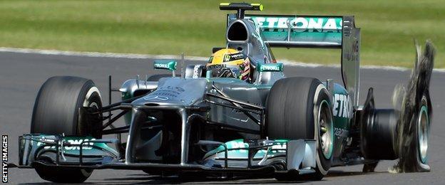 Lewis Hamilton and Nico Rosberg on the podium after the Belgium Grand Prix