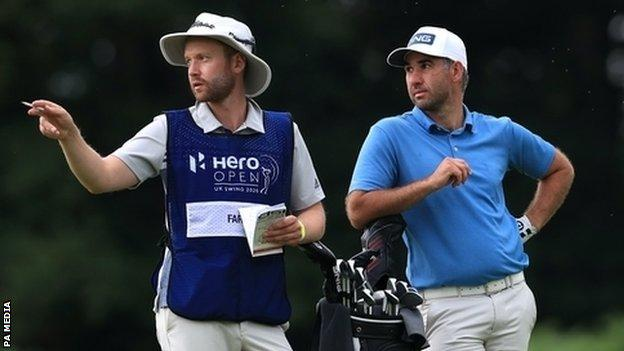 , Oliver Farr: Welsh golfer in contention at Hero Open