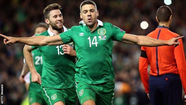 Republic of Ireland forward Jon Walters