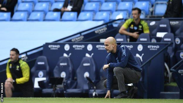 David Adams believes Manchester City manager Pep Guardiola sets a good example for others on the touchline