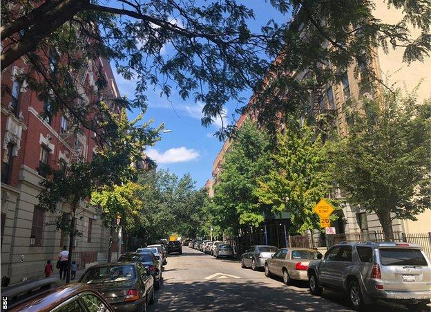 Althea Gibson's street in Harlem