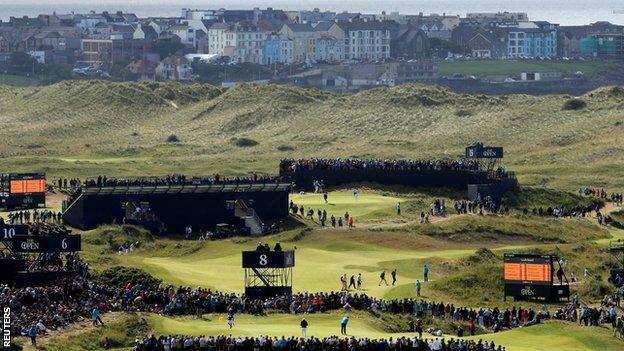 Royal Portrush golf course