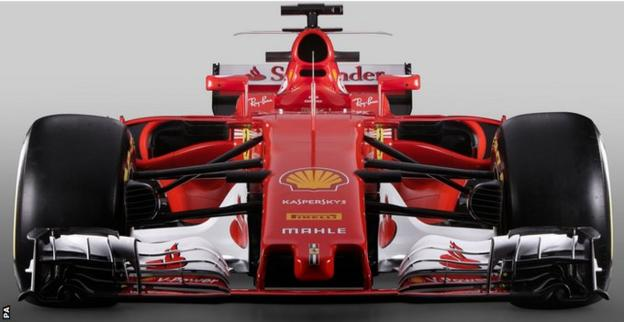 Ferrari F1 2017 car launch handout