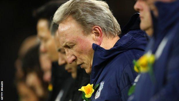 Cardiff boss Neil Warnock had said the disappearance of Sala had led to his worst week in football