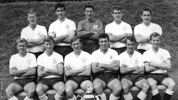 Tottenham Hotspur 1962 team