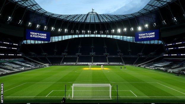 Fulham's previous Premier League match against Tottenham was postponed