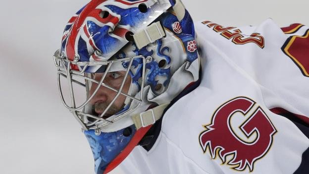 Petr Cech saves two penalties on ice hockey debut for Guildford Phoenix thumbnail