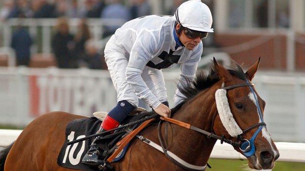 Jockey Adrian McCarthy
