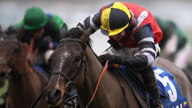 Potters Corner and jockey Jack Tudor won the real world Welsh National in 2019