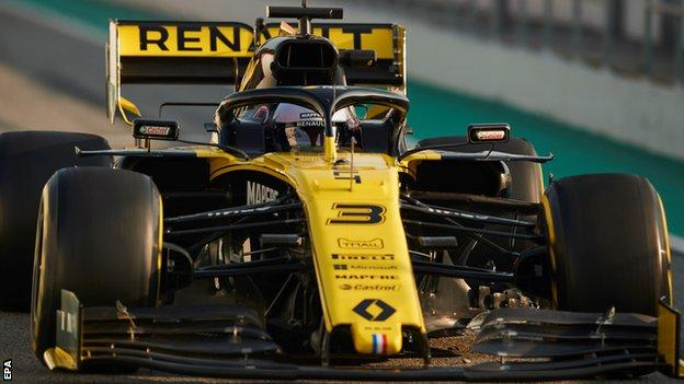 Daniel Ricciardo of Renault