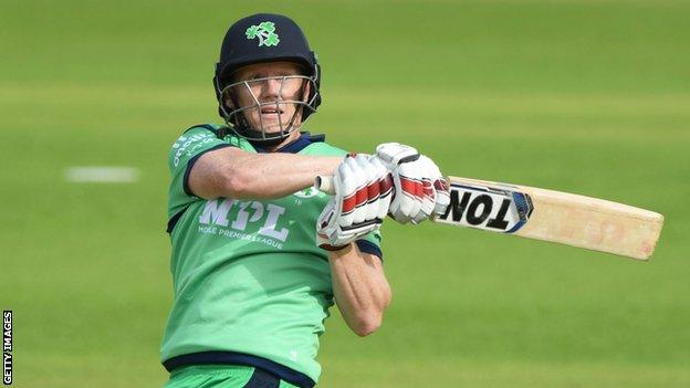 O'Brien has scored a combined total of 25 runs in the first two ODIs against England