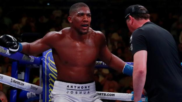 Anthony Joshua says he is not 'blaming anyone' for Andy Ruiz Jr defeat thumbnail
