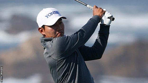 South Korea's Sung Kang