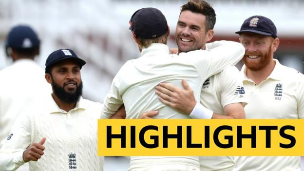 102944671 p06h8st7 - Explore highlights from day Four of the second Take a look at as England clinch victory over India