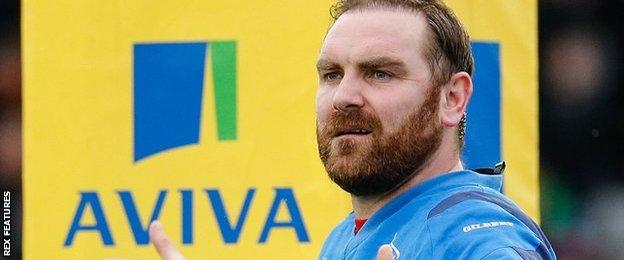 Newcastle fly-half Andy Goode