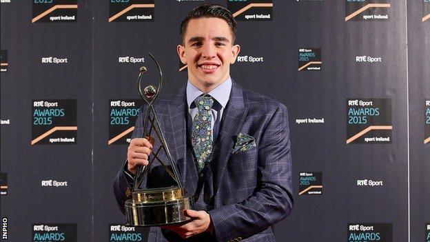 Belfast amateur boxer Michael Conlan