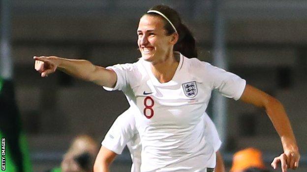 England and Manchester City midfielder Jill Scott