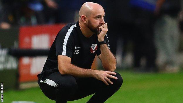 Qatar boss Felix Sanchez Ba