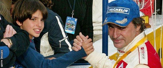 Carlos Sainz Jr and Carlos Sainz Sr
