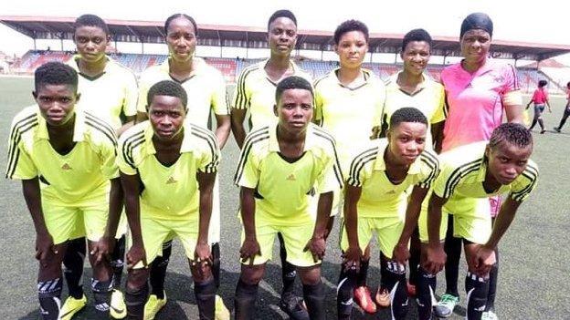 Nigeria's Edo State to pay women and men teams equally - BBC News