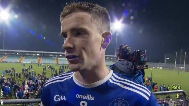 Naomh Conaill captain Ciaran Thompson admits the last couple of weeks have been 'absolute mayhem'