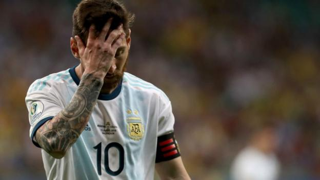 Argentina 0-2 Colombia: Lionel Messi's side 'feeling bitter' after Copa America defeat thumbnail